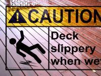 Best No Slippery/Anti-Slip outdoor decking floors