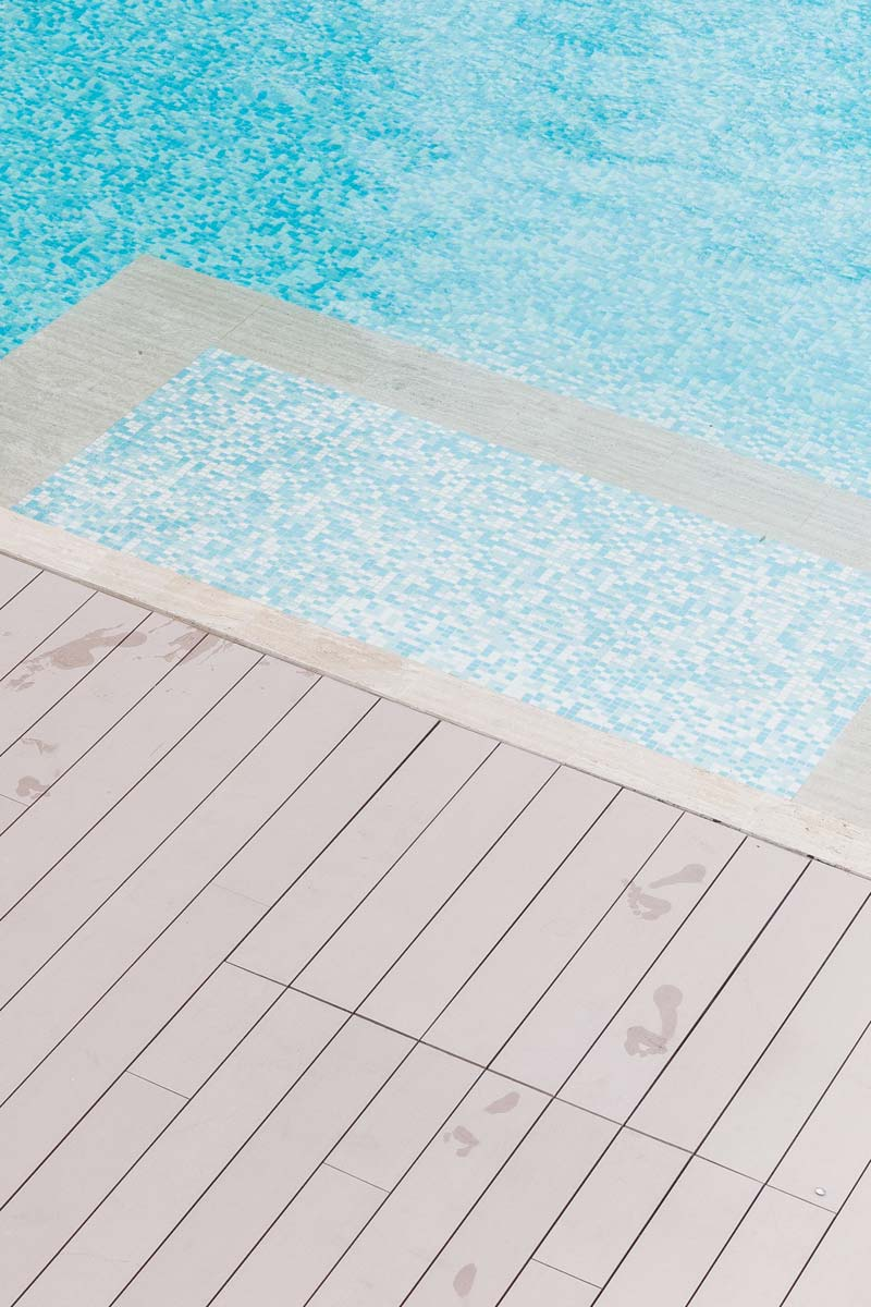 decking swimming pool condominium