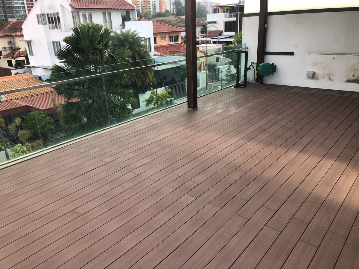 decking terrace in singapore